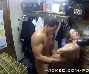 Wicked - Kalina Ryu gets fucked in the closet
