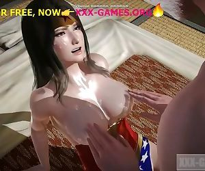 Asian natural tits, Wonder woman, hot porn game