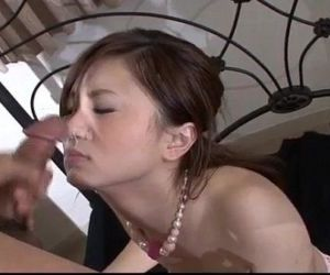 Rui Yazawa perky tits babe amazes with her cock sucking  - 12 min