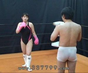MLDO-056 Human sandbag for woman martial artist. Mistress Land - 4 min