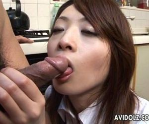 Asian cock sucker found her lolly to suck on - 8 min