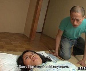Asian slut gets fucked by the leering perv - 53 sec