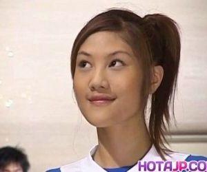 Naughty Asian teen Azusa Ayano gangbanged in hot bukkake sex scenes - 10 min