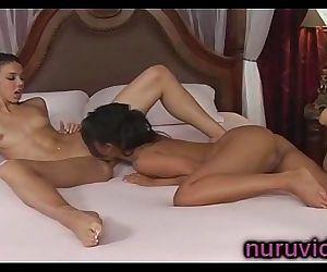 Tiffany Tyler and Asa Akira lesbian 5 min