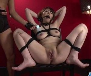 Reika Ichinose enjoys having sex in rough bondage show - 12 min