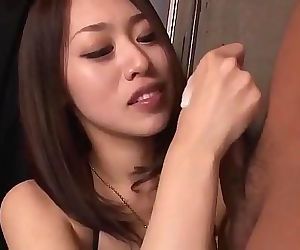 An Yabuki loves to feel the cock fully in her throatMore at Slurpjp.com 12 min HD