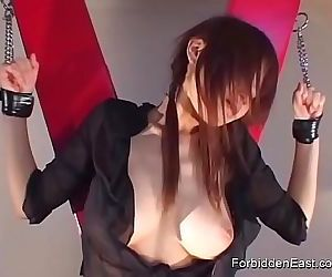 Japanese Geisha in Hardcore BDSM 8 min