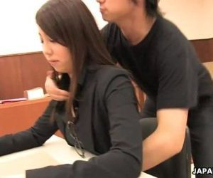 Asian lawyer has a hot threesome in the court room - 1 min 12 sec
