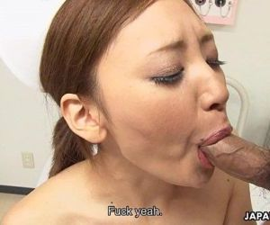 Asian nurse getting her wet pussy handled right - 8 min HD+
