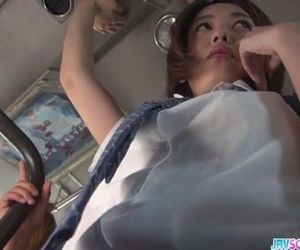 Schoolgirl Yuna asian blowjob and public fuck - 8 min