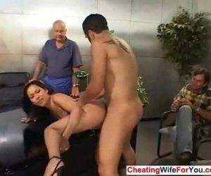 Asian cuckold wife like jizz - 8 min