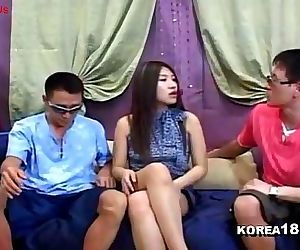 Korean1818 2012.05.03Live Threesome 30 min