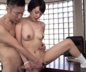 Adorable beauty Sakura Aida bends over for a good fuck - 12 min