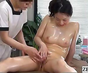 JAV CFNF Lesbian Massage Clinic Masturbation Help Subtitled 5 min