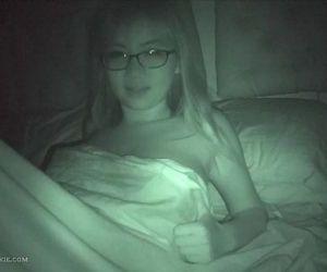 Cute busty asian teen ex gf on nightvision - 3 min