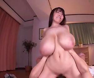 Asian Bird Massive Tits Getting Fucked