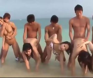 Summertime forever PMV - a CYBERJAPAN Uncensored JAV Orgy Music Video