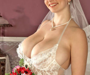 Superb fatty Christy Marks boasts of her huge boobs and..