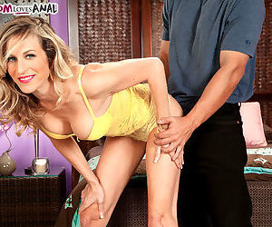 Mature angel Gianna Phoenix experiences deep and rough..