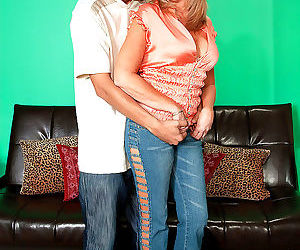 Mature lady jasmine fields has her latino gigolo on speed..