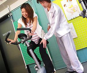 Haruna sakurai fucked in the gym - part 424