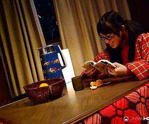 Yukina aoyama loves to tease heself - part 1697