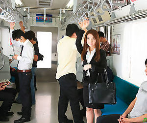 Train gang banged hot japanese girl - part 2943