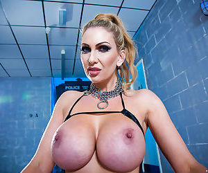 European milf Leigh Darby is featured in a hot posing..