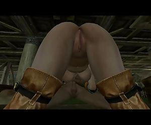 Ciris First Time Witcher Skyrim..