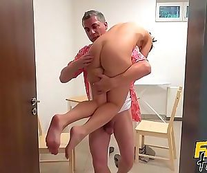Fake Hostel – Young petite..