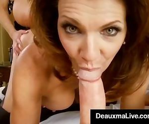 Sexy Milf Deauxma Blindfolds..