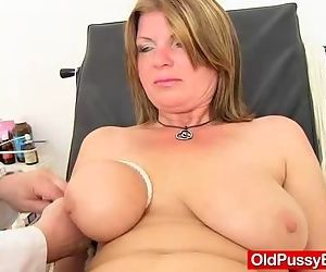 Madam gyno with dildoes and fuck..
