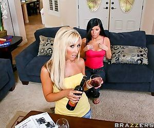 Sexy wives Kenzi Marie and..