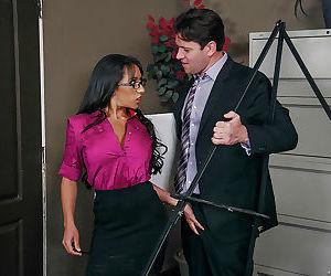 Ebony office worker Priya Price..