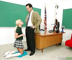 Fascinating schoolgirl Rebecca..