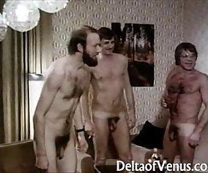 Vintage Porn 1970sClassic German Interracial