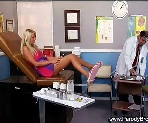 Blonde Fucks The Wrong Doctor!