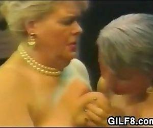 Gordura lésbicas Avós no um
