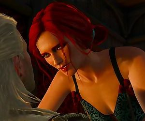The Witcher - Geralt & Triss in the Passiflora
