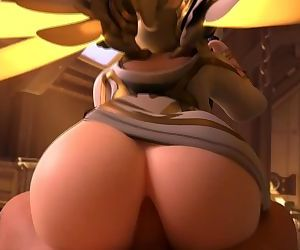 Winged Victory Mercy Reverse Cowgirl Overwatch