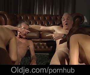 The old men mansion of hardcore blowjob cumshots fuck two..