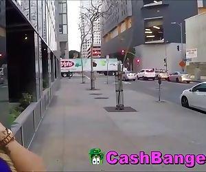 Stranded Big Boobs Teen Sucks Samaritan For Fare Home