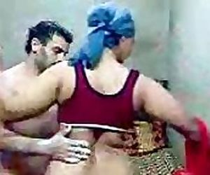 Indian amateur wife having sex with her neighbour..