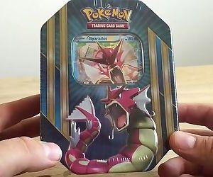 Sexy slutty pokemon tin on webcam open by milf