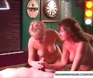 Pool Room Blowjob