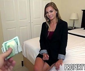 PropertySexWicked fine real estate agent excepts client..