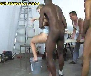 Black Men Share My Wife - 5 min