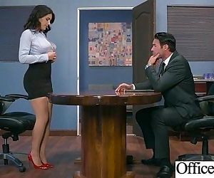 Girl With Round Big Tits In Hard Style Sex In Office clip-30