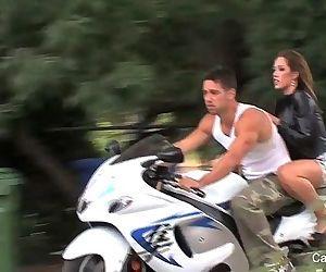 Capri Cavanni & The BikerHD