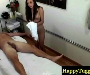 Asian masseuse tugging dong - 8 min HD